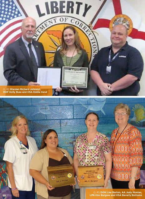 Three team members honored as employees of the month in Florida
