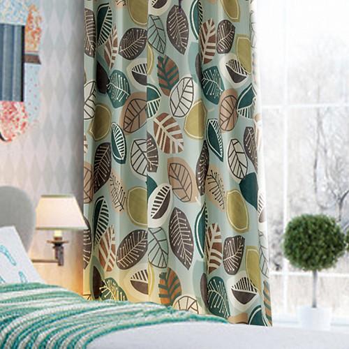 (破盤價)拼貼葉趣(獨家) 樹葉 雨林葉片 防光(遮光)窗簾布 DA1290147