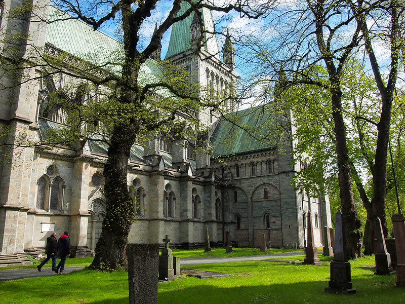 Nidaros Cathedral in Trondheim, Norway