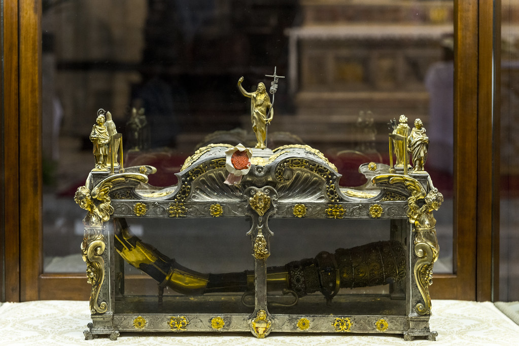 Relic Of The Right Arm Of Saint John The Baptist In May