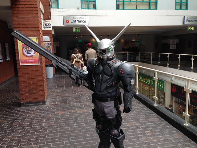 Preston Comic-Con 2015 - Briareos from Appleseed