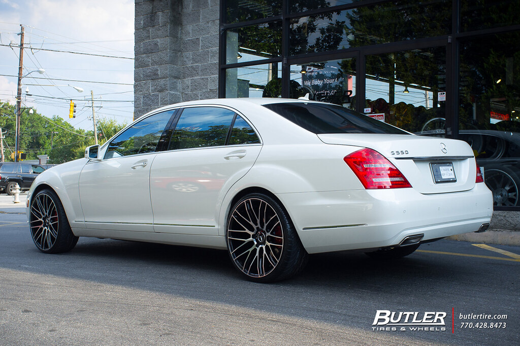 Mercedes S550 With 22in Savini Bm13 Wheels View