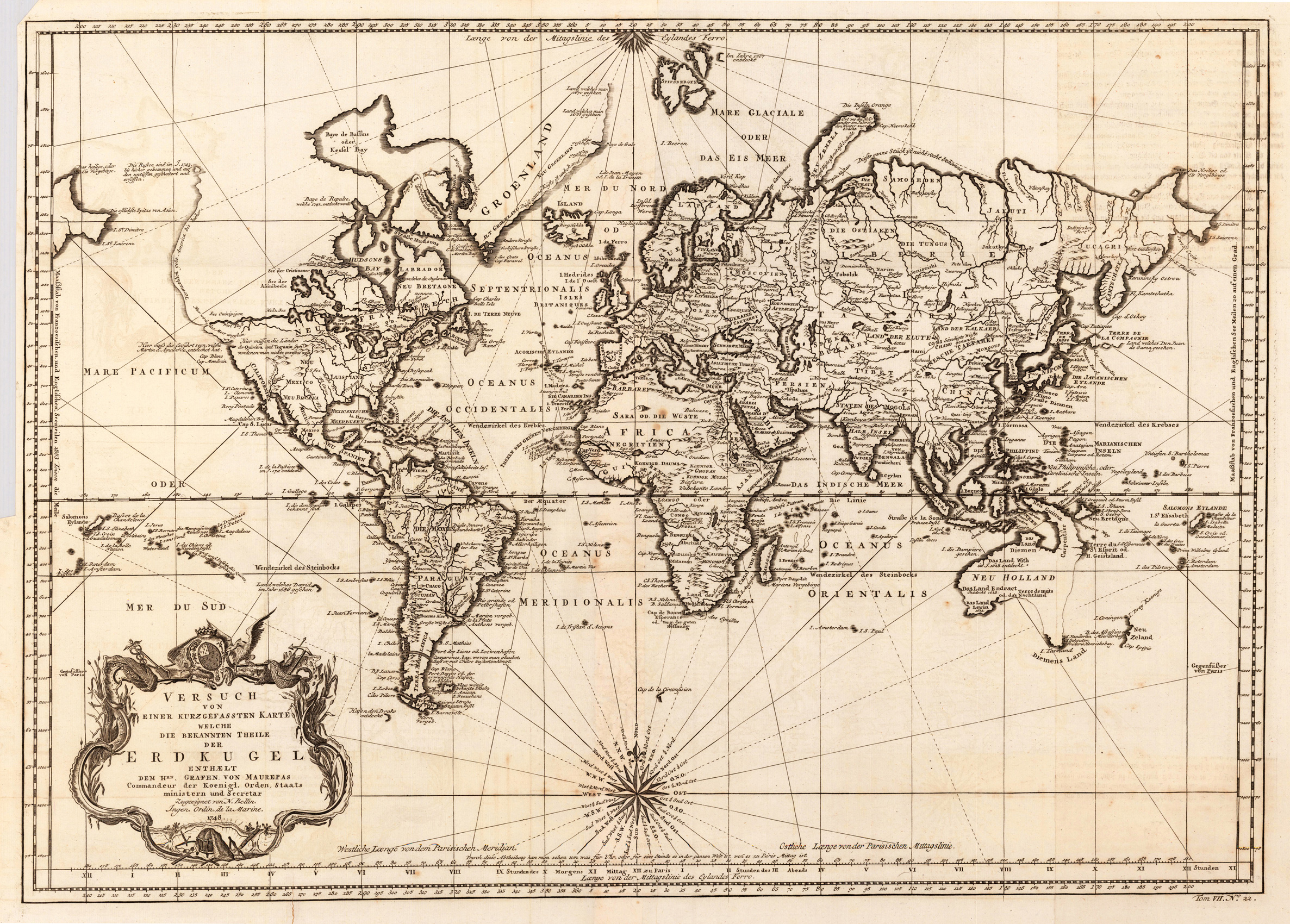 World map (1748)