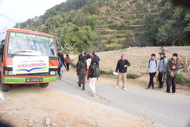 Excursion to Nagarkot, Bhaktapur_Management Batch 2073-75_23 Dec 2016