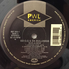 ED O.G & DA BULLDOGS:BUG-A-BOO(LABEL SIDE-B)