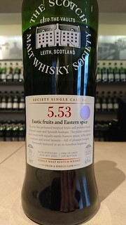 SMWS 5.53 - Exotic fruits and Eastern spice