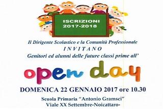 Noicattaro. Open Day Gramsci front