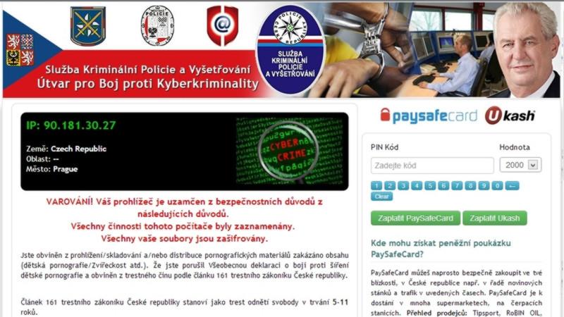 policejní virus