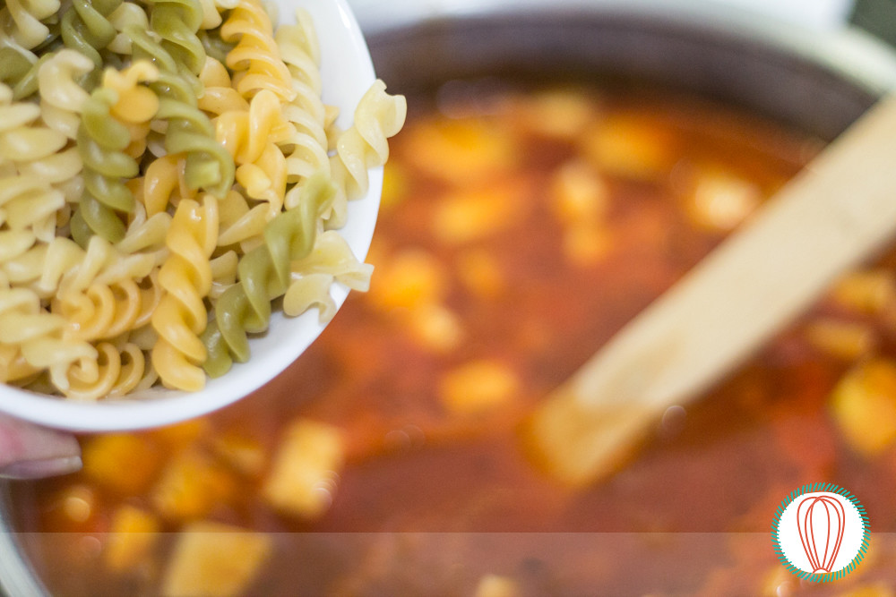 Pasta & Vegetable Soup
