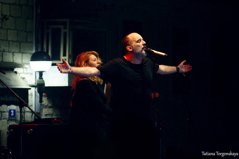 Тони Цетински на концерте