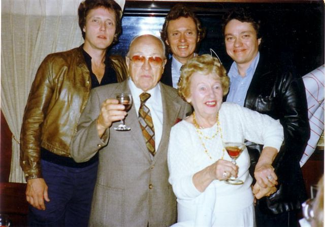 The Walken Family | Chris (Ronald) and his two brothers ...