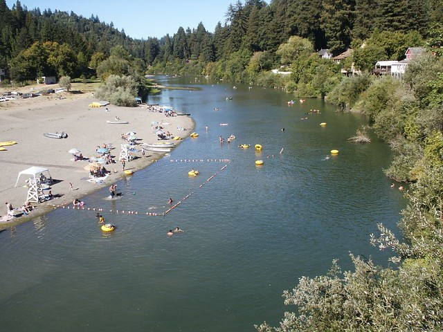 Russian River And Near The 84