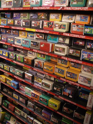 Family >> Family Computer | Famicom (NES) games at Super Potato, Tokyo… | Alex Watson | Flickr
