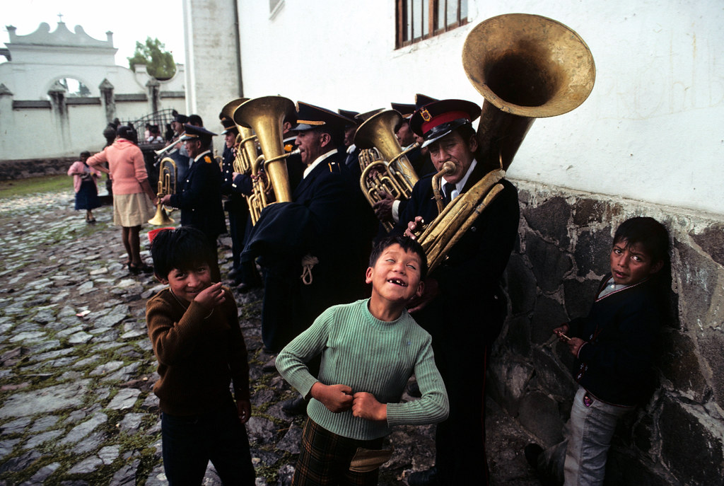 Music in Quito, Ecuador, 1974 | by Marcelo  Montecino