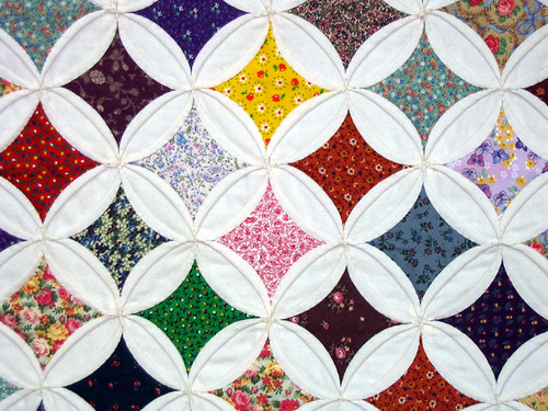 Cathedral Window Quilt | by pauly...