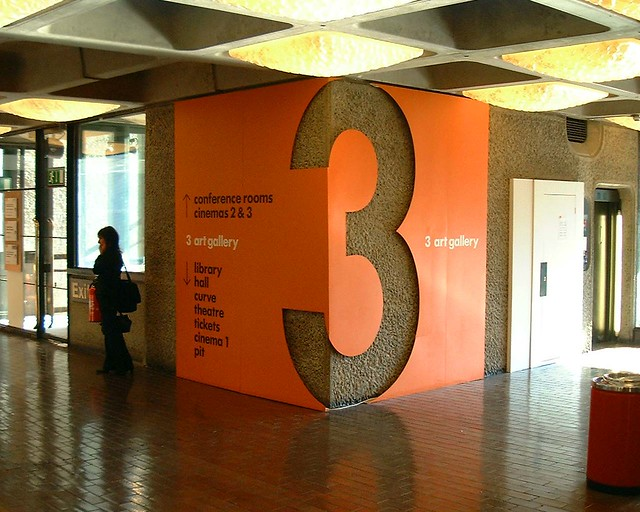 Barbican floor signage | I discuss it here. | Phil Gyford ...