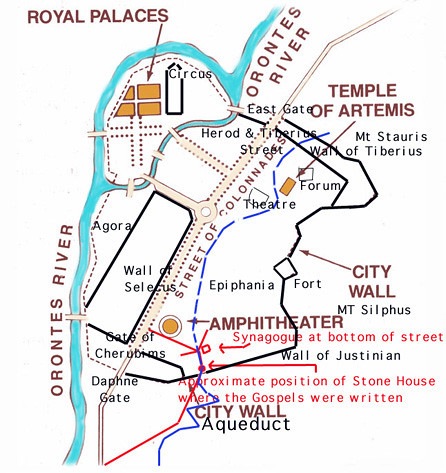 Antioch Ancient Map   JJ B.   Flickr