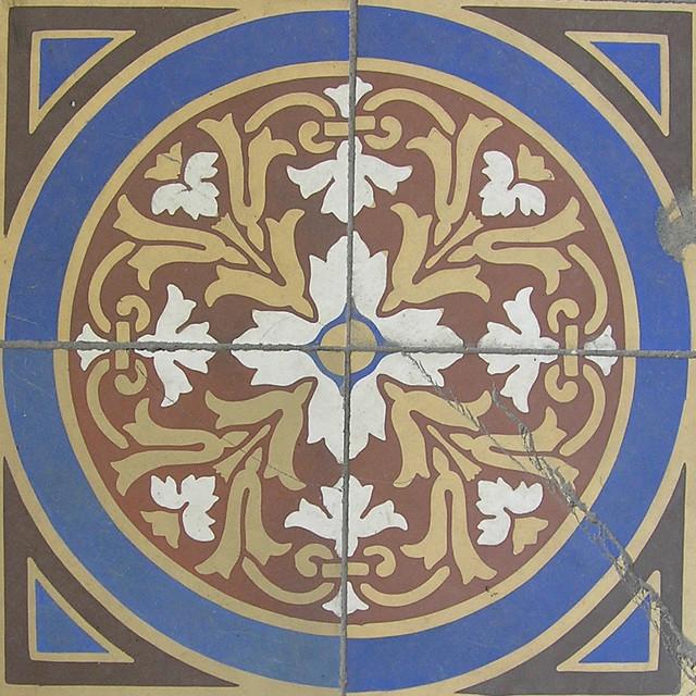 Decorative Floor Tiles The Walk Norwich Norfolk England Flickr