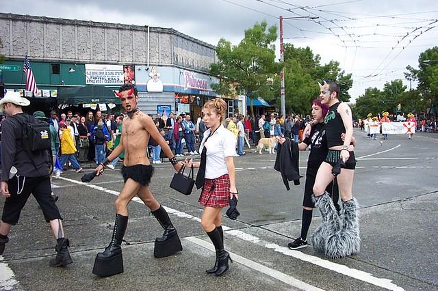 Gay pride seattle parade 2010