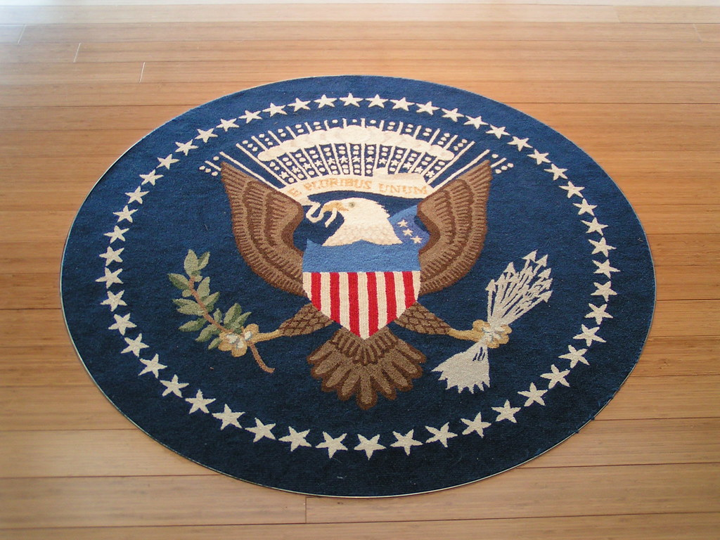 oval office carpet. Carpet @ Oval Office Library Clinton Presidential Museum | By Scott Adams F