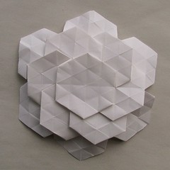 hexagonal origami - front | by fo.ol