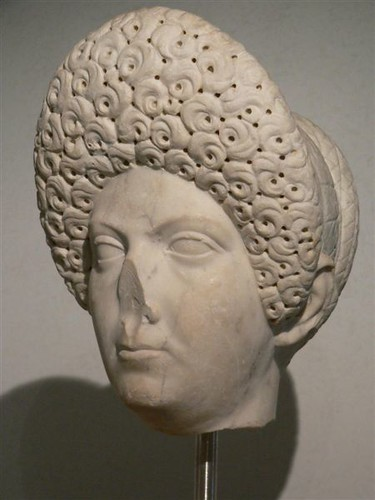 Domitia Longina Wife Of Flavian Emperor Domitian Mary