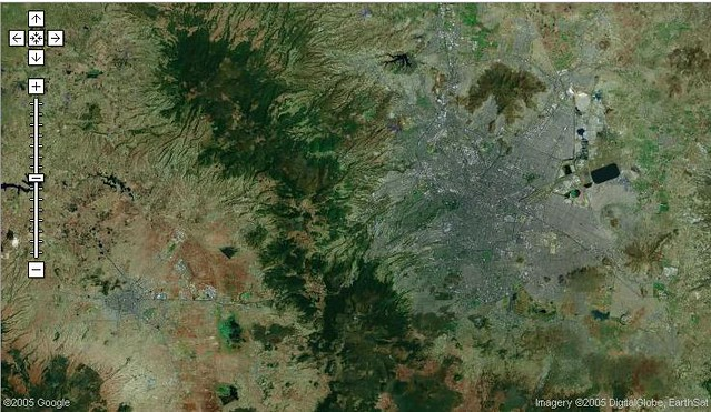 Vista Satelital De Toluca Y Df Vista Satelital De Toluca