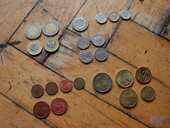Polish Złoty and Euro Coins | by schoschie