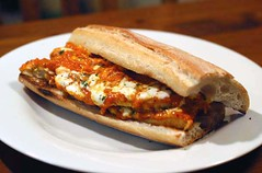 Chicken Parmesan Sandwich | Marinara Sauce (canned ...