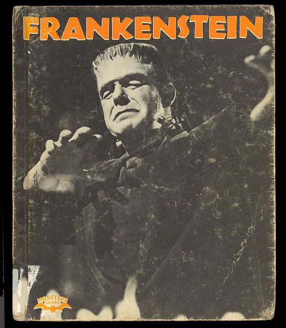 Frankenstein Crestwood Monsters Series 1977 Kids book | Flickr