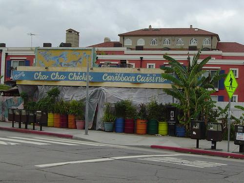 Venice Beach Restaurant Cafes