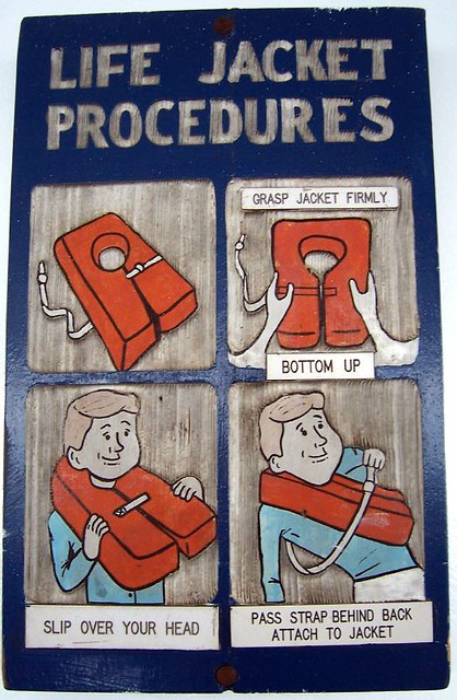 How To Wear A Life Jacket On The Boat To Fort Sumter