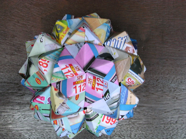 Bucky Ball Origami