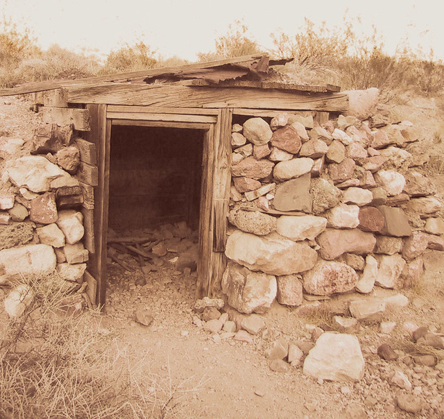 Miner 39 S Cabin Death Valley Sepia Print This Digital