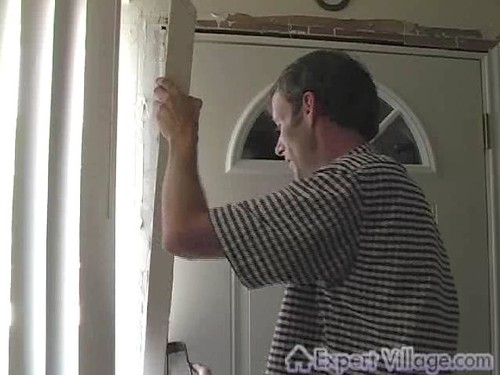 Replacing Exterior Door Trim This Is A Single Frame From A Flickr