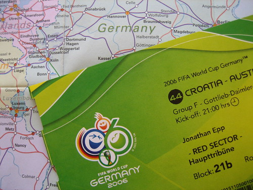 World Cup ticket to Germany | by Jonathan Epp