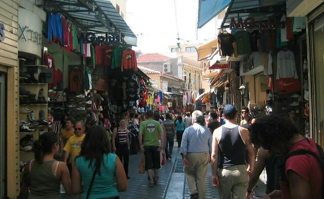 Athens Monastiraki Flea Market Monastiraki Is A Flea