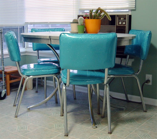 My Quot New Quot 50 S Diner Table And Chairs My Latest Project