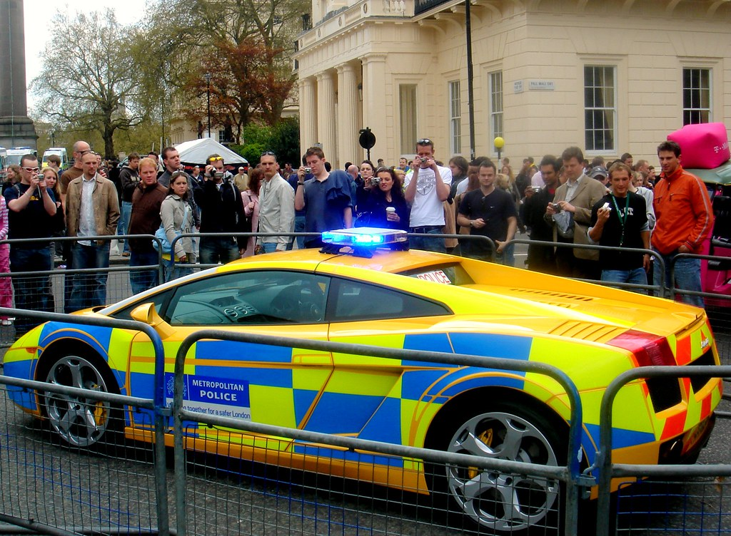 Cool Police Car Parking Games