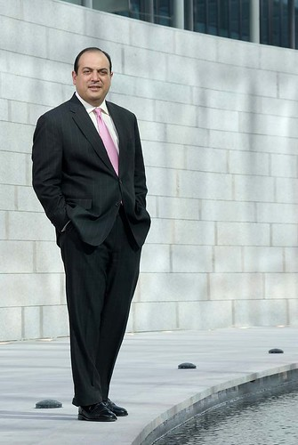 Georges Makhoul Of Morgan Stanley Corporate Portrait By D