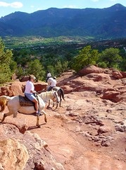 Garden Of The Gods Touring On Horseback As Nancy And I W Flickr