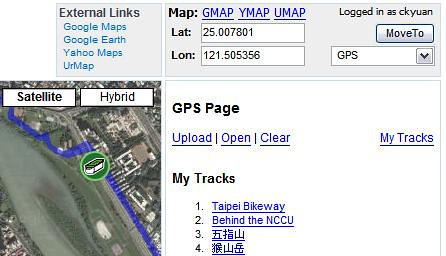 Yuan.CC Maps - GPS Tracks | by .CK