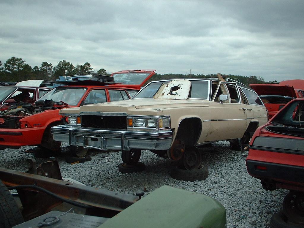 1978 Cadillac Sedan Deville Station Wagon A Very Rare Cadi Flickr By Forwardlookguy
