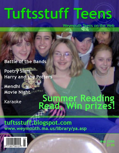 tuftsstuff magazine cover | by Weymouth Public Library