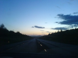 Night is falling on the way to Kilkenny | by rymus