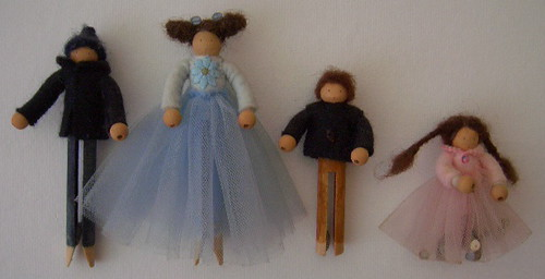peg doll family | by prairie.mouse