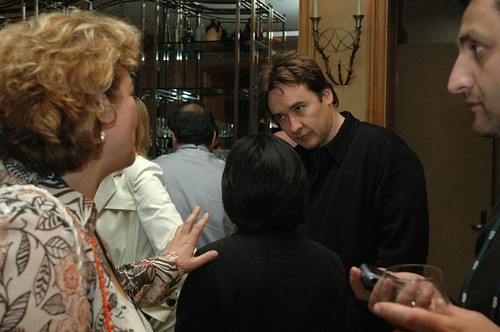 John Cusack talking to Kara Swisher | by dfarber