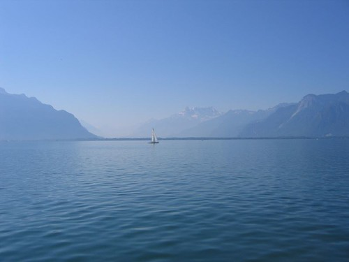 Lake of Geneva... No comment | by Alex Osterwalder