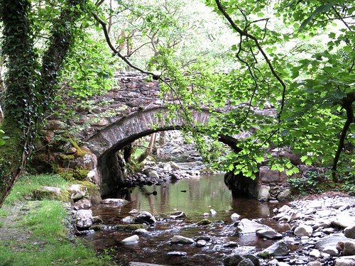 0965 Road bridge at Ty Nant