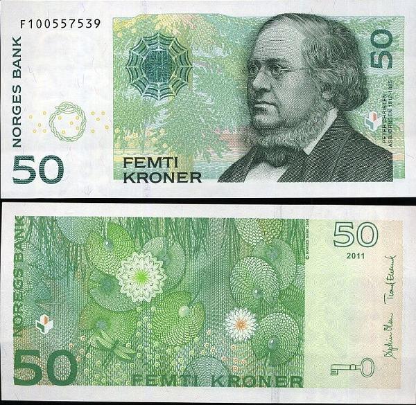50 korún Nórsko 2011 Pick 46